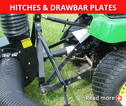 Trac-Vac hitches-drawbar-plates